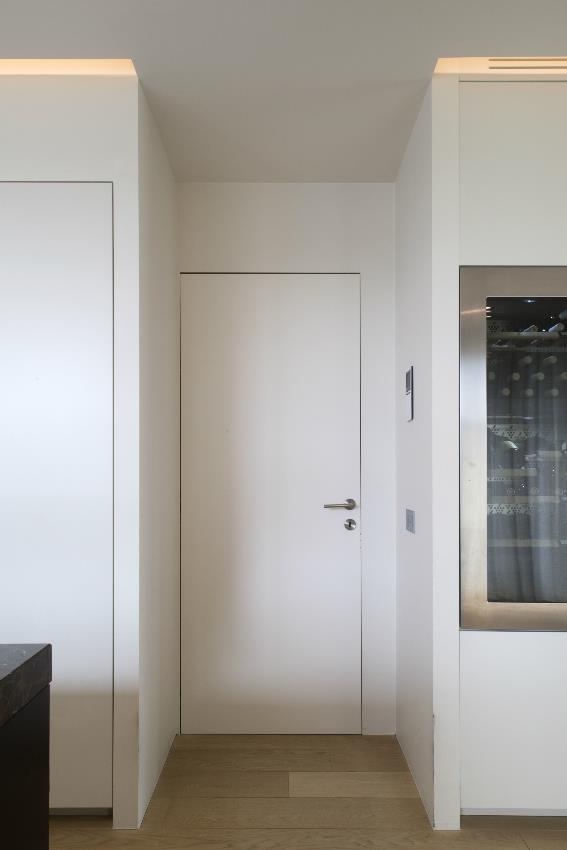 rahmenlose Tür