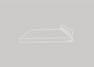 afwerkingsprofiel - gipsplaat met aluminium hoek